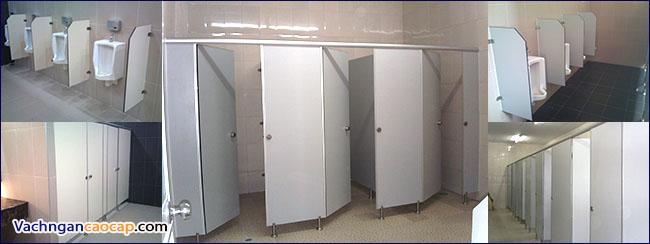 Kích thước Chiều rộng vách ngăn vệ sinh
