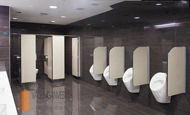 Vách ngăn vệ sinh tiểu nam chất lượng cho công trình hiện đại