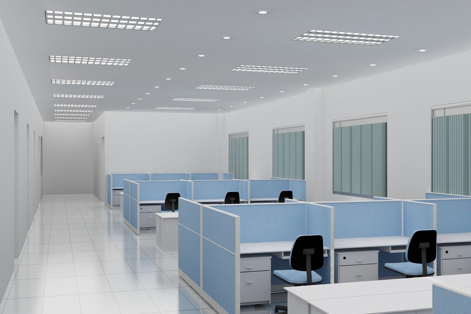 Sử dụng vách ngăn giải pháp tối ưu cho không gian văn phòng