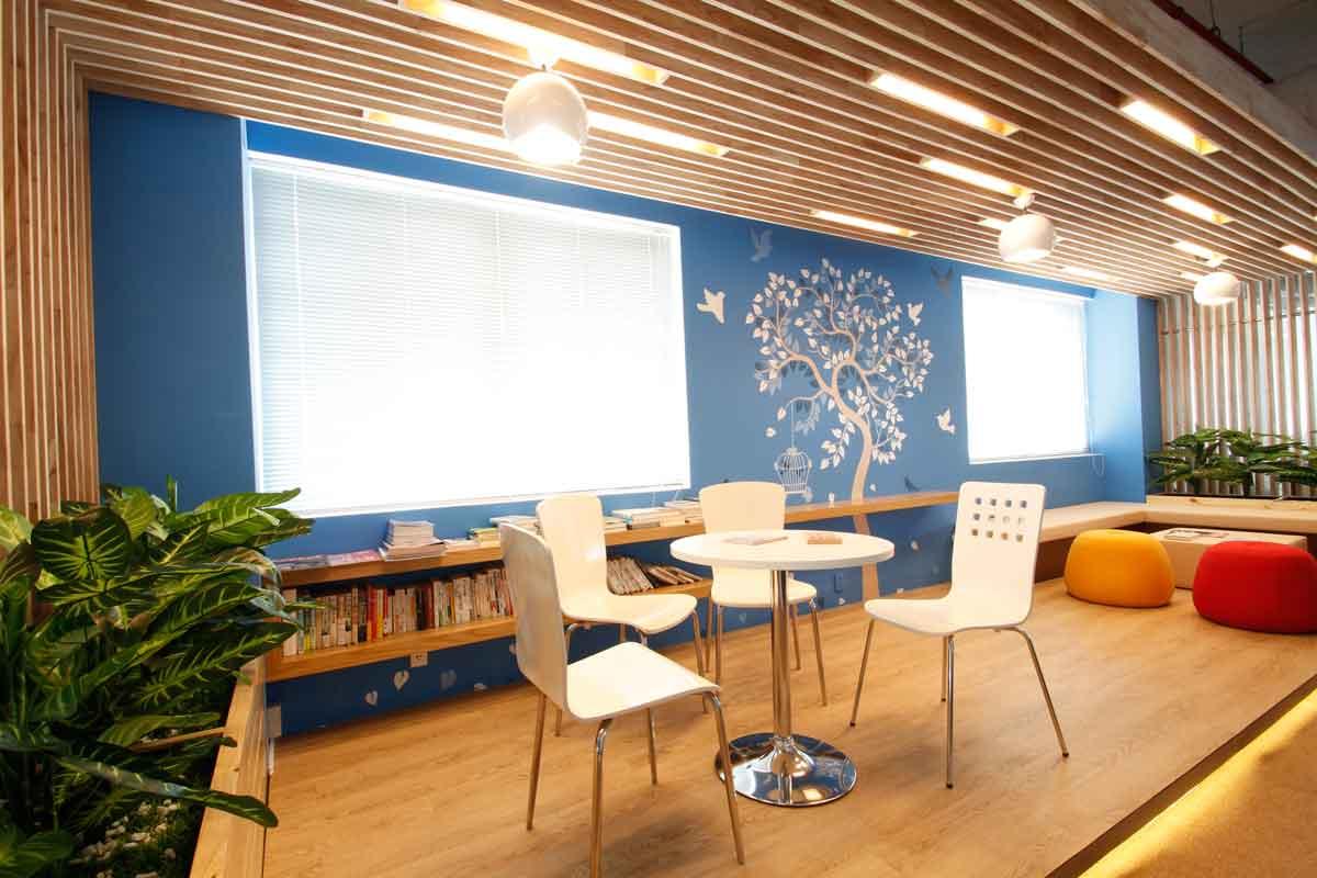 Lưu ý khi thiết kế khu vực relax tại văn phòng