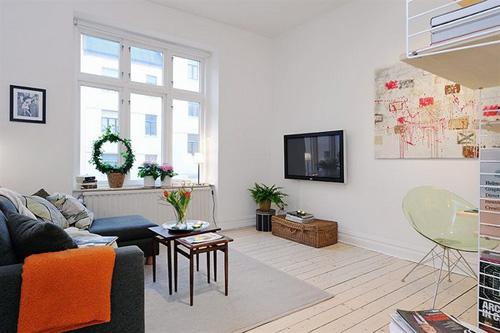 Nghệ thuật giúp không gian nhà nhỏ trở nên thoáng đãng hơn