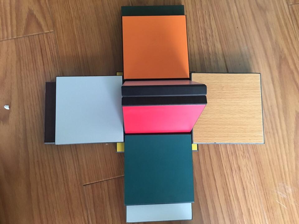 Màu sắc vách ngăn vệ sinh Compact Hpl