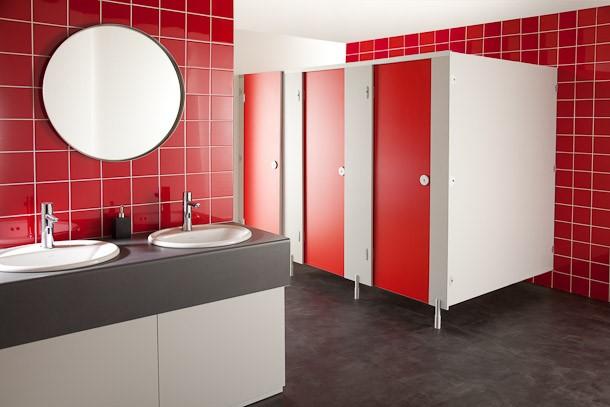 Tìm hiểu chi tiết về vách ngăn vệ sinh Compact HPL