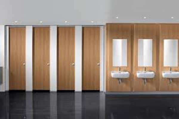 vách ngăn nhà vệ sinh MFC