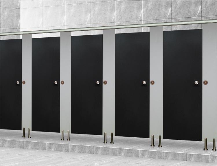 Cửa vách ngăn vệ sinh