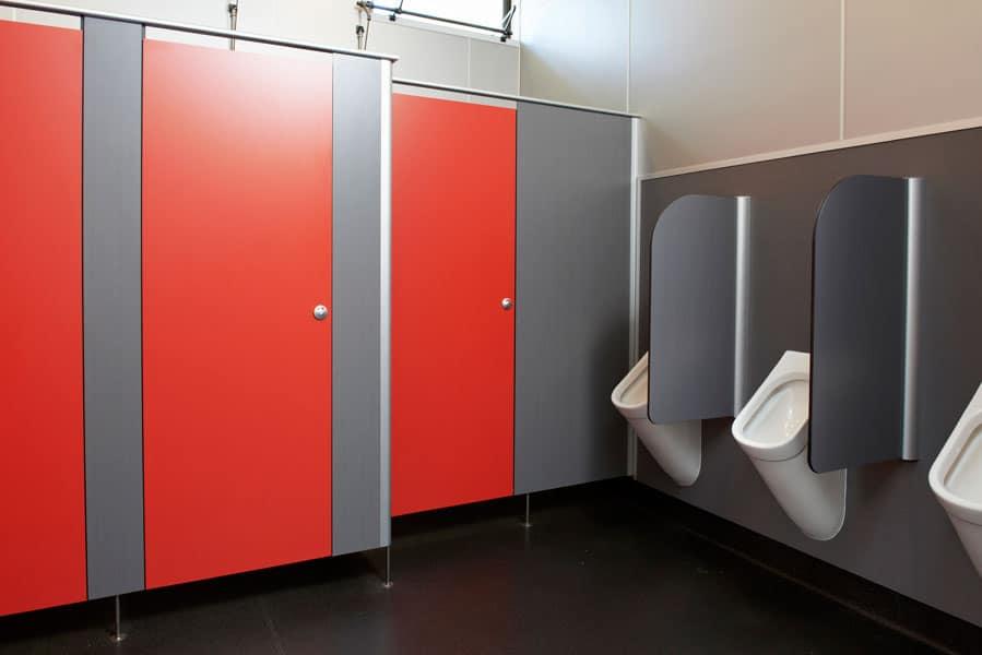 ứng dụng của vách ngăn vệ sinh composite