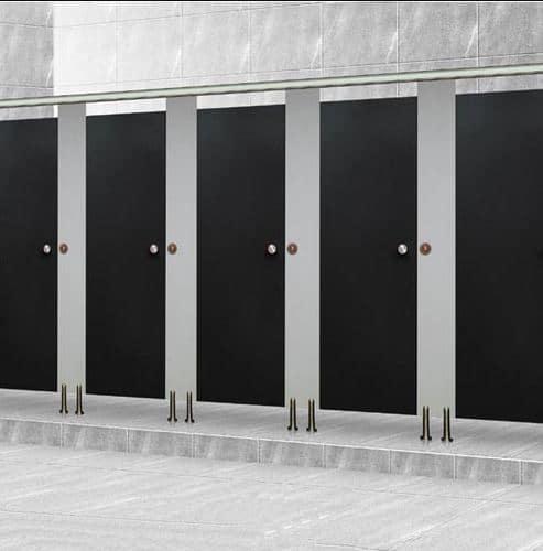 Lựa chọn vách ngăn nhà vệ sinh compact
