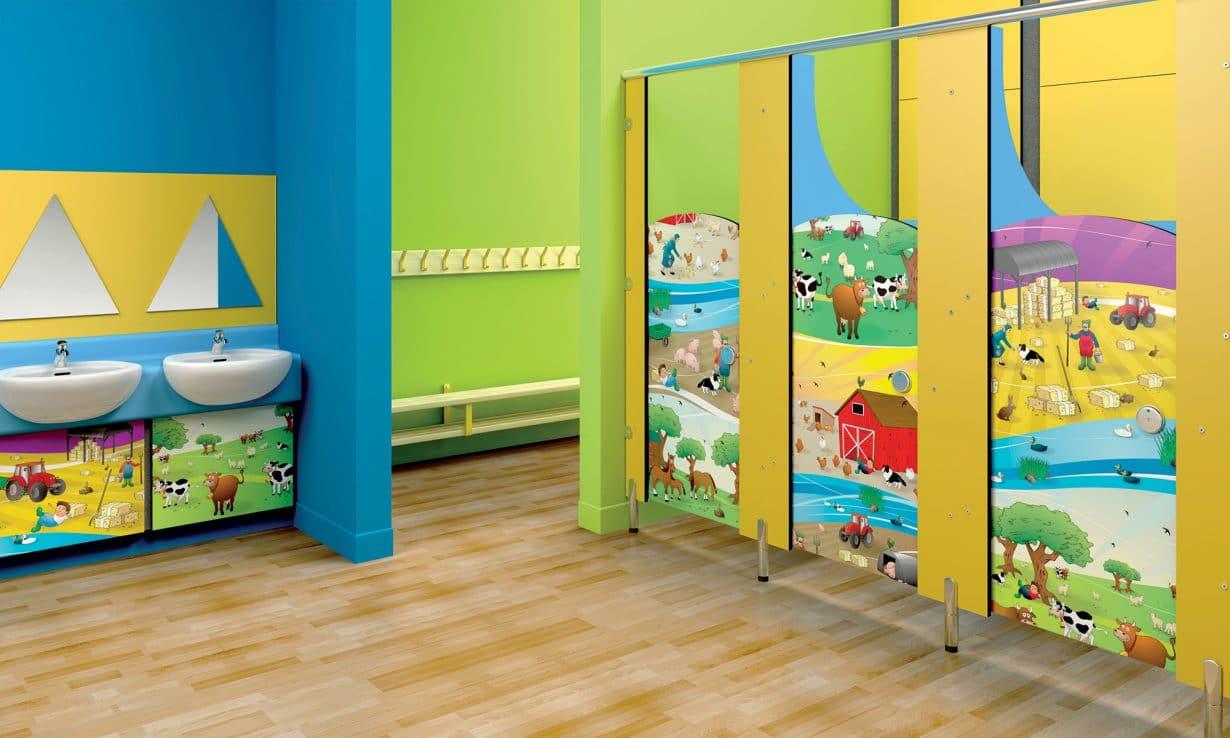 mẫu vách ngăn nhà vệ sinh trường mầm non (3)