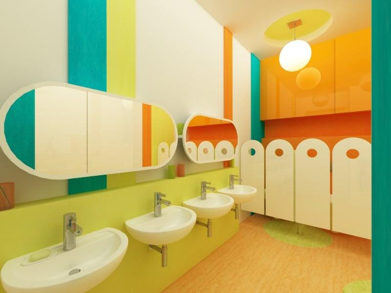 mẫu vách ngăn nhà vệ sinh trường mầm non (6)