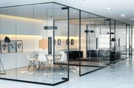 Các loại vách ngăn văn phòng đẹp, phổ biến trên thị trường